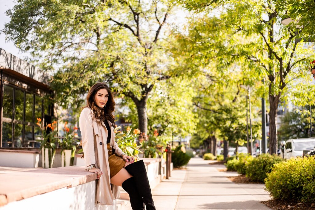 Olivia Merrill of The Denver Look on fall trends